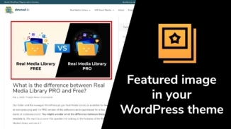 How to get WordPress featured image URL