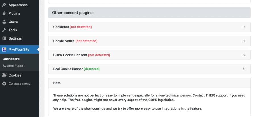 PixelYourWebsite Consents
