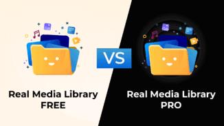 Real Media Library PRO vs Free