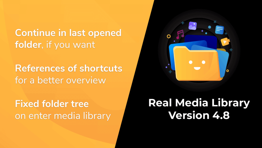Real Media Library Version 4.8