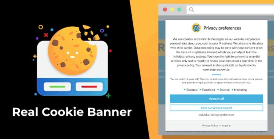 Real Cookie Banner Envato Market product teaser