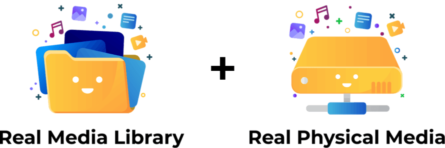 Real Media Library + Real Physical Media (add-on)