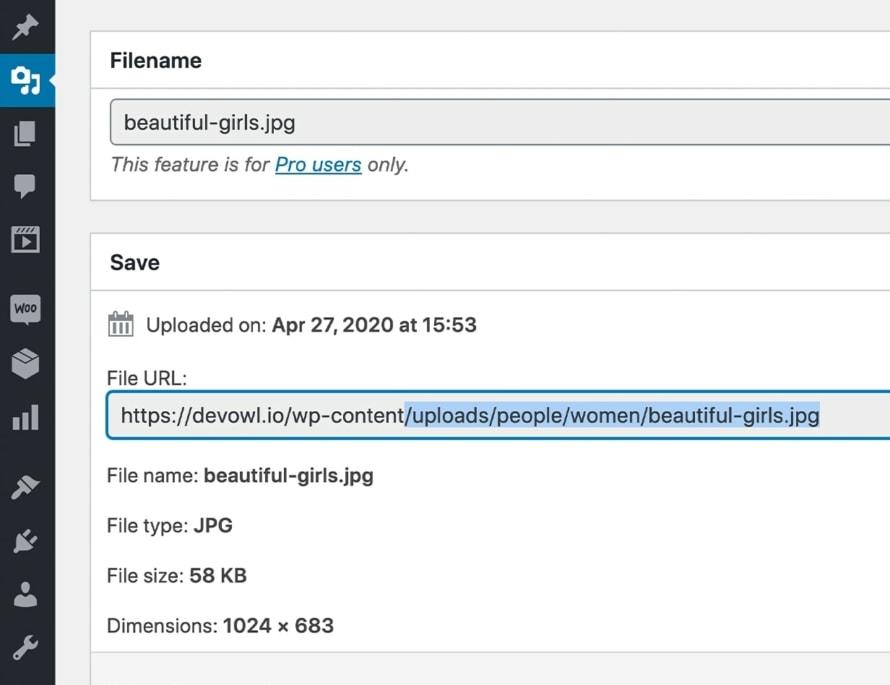 SEO-optimized file paths